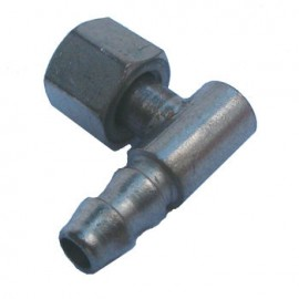 90 DEGEE ELBOW WITH 7/16'' NUT