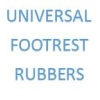 UNIVERSAL FOOTREST RUBBERS