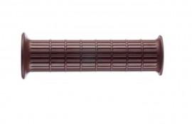 ARIETE HERITAGE HANDGRIP (WAFFLE PATTERN)- CHOCOLATE - 7/8inch HANDLEBAR