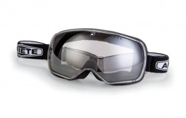 ARIETE FEATHER CAFE RACER GOGGLES - BLACK