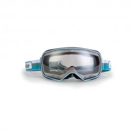 ARIETE FEATHER CAFE RACER GOGGLES - BLUE/WHITE