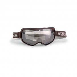 ARIETE FEATHER CAFE RACER GOGGLES - BROWN