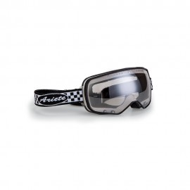 ARIETE FEATHER CAFE RACER GOGGLES - CHEQUERED