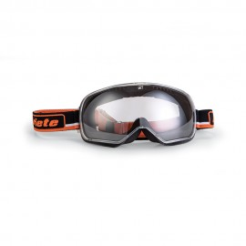ARIETE FEATHER CAFE RACER GOGGLES - BLACK/ORANGE